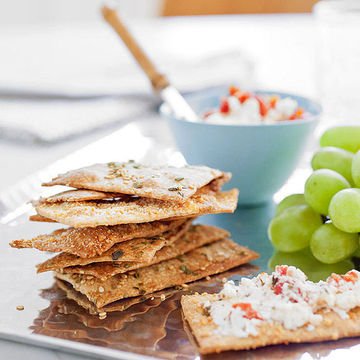 Sesame Herb Crackers
