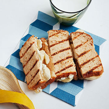 Nutty Banana Grilled Cheese