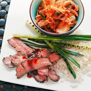 Korean Bulgogi-Style Steak