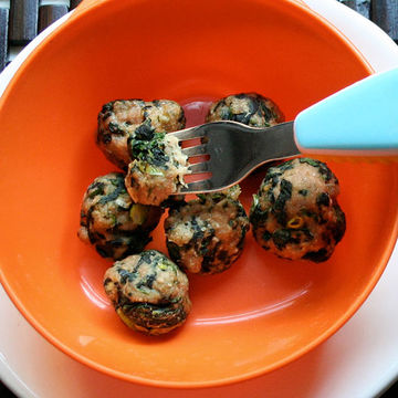 Spinach and Turkey Meatballs