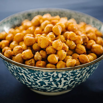 Spanish-style Fried Chickpeas
