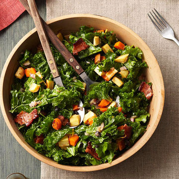 Roasted Root and Kale Salad