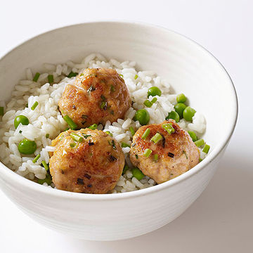Chicken-Curry Meatballs