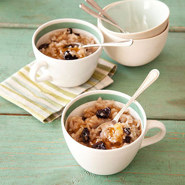 Spiced Rice Pudding with Dried Cherries