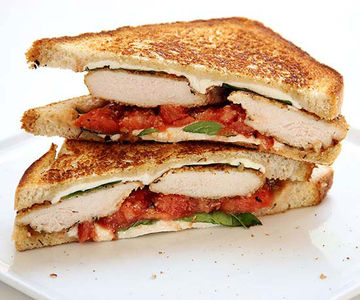 Chicken Parm Grilled Cheese Sandwich