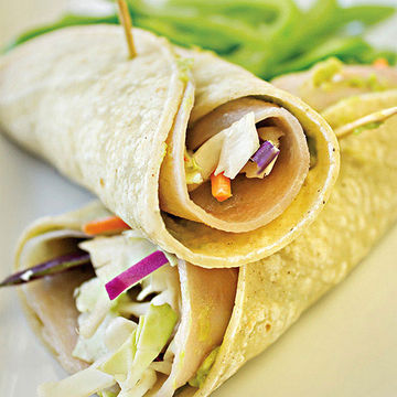Turkey Avocado Roll-Up