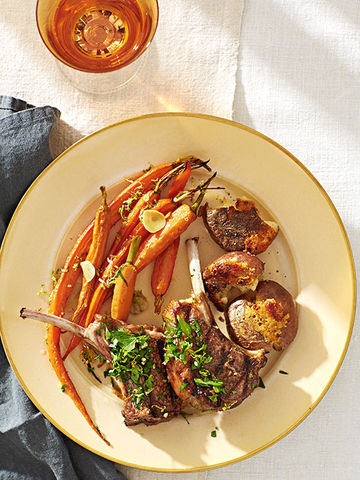 Lemon Grilled Lamb Chops