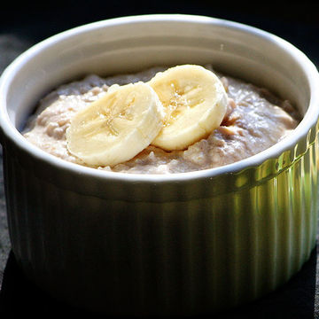 Baby Food Blend - Banana-Quinoa Pudding