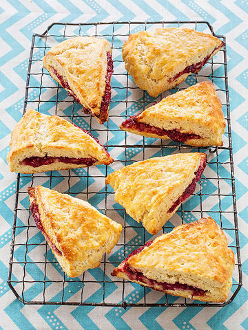 Jammy Scones