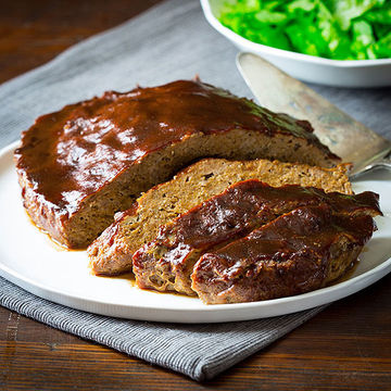 BBQ Slow-Cooker Meatloaf