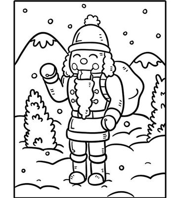 Printable holiday coloring pages for Nutcracker coloring pages printable