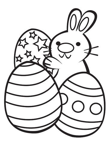 Printable spring coloring pages for Easter coloring pages for boys