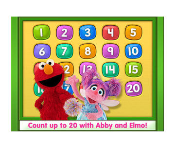 Elmo Loves 123s app