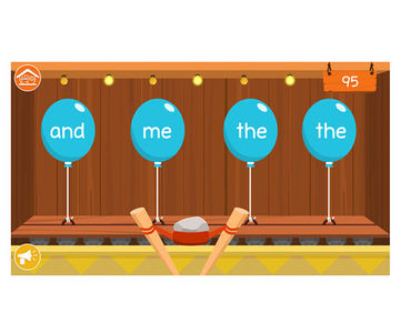 The Sight Word Adventure app