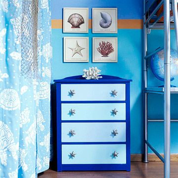 A Marine Biology Themed Room