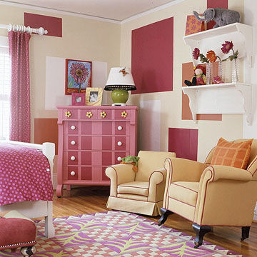 facing dresser overall. 18 Adorable Girl Rooms