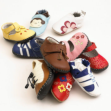 Pile Of Toddler Shoes