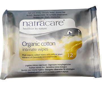 Natracare Organic Wipes