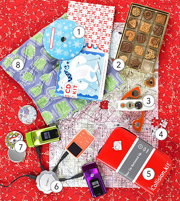 holiday gifts: puzzle, cd packaging kit