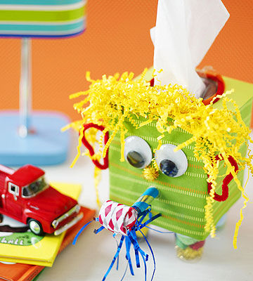 Sneezy Does It Cute Tissue Box Craft