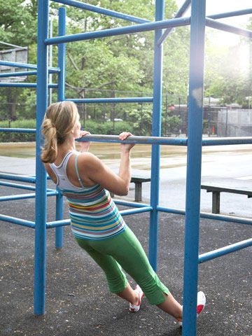 Full Body Playground Workout