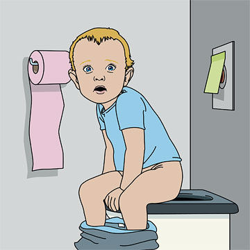 Our Just Barely Potty-Trained Child Needs to Use the Public Restroom