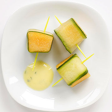 Fun finger foods cucumber melon sushi forumfinder Image collections