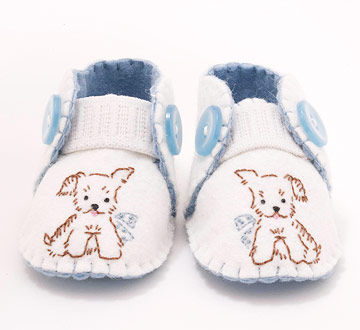 Bootie Call baby shoes
