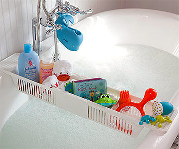 bath tub storage