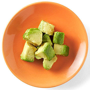 cubes of Avocado
