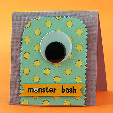 Monster Bash Invite