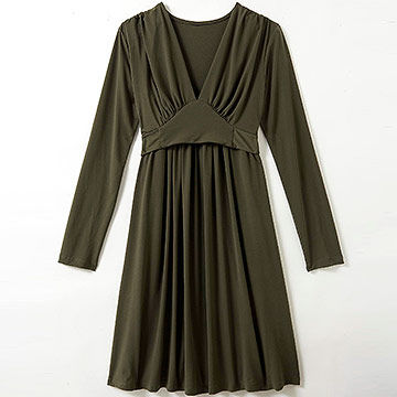 Olian Empire-cut nursing dress