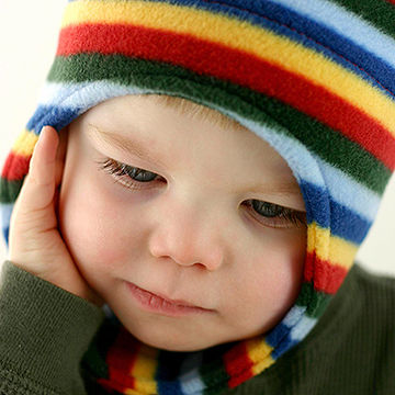 baby with cold