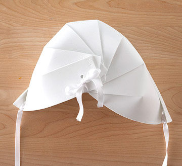 Pilgrim Bonnet Step 3