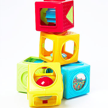 Earlyyears Stacking Cubes