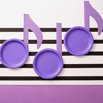 Music Note Table