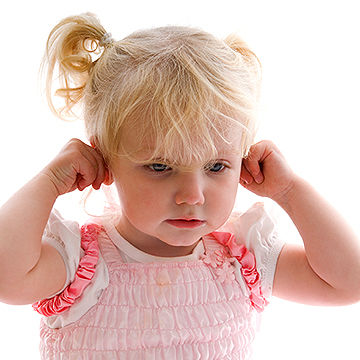 toddler pulling on ears