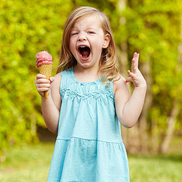 screaming for ice cream