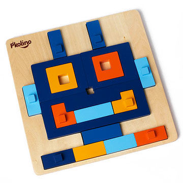 Multi-Solution Shape Puzzle: Robot