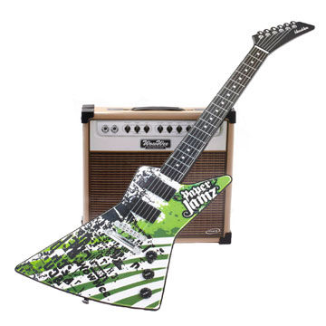 Paper Jamz Guitar and Amp