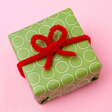 Color copied gift wrap