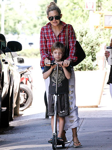 Kate Hudson with son Ryder