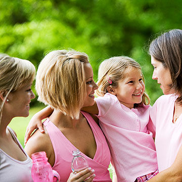 breast cancer survivors with child