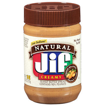 Jif Natural Peanut Butter Spread