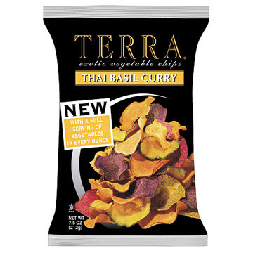 Terra Thai Basil Curry Exotic Vegetable Chips