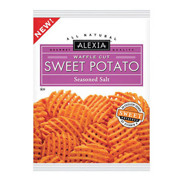 Alexia Waffle Cut Sweet Potato Fries with Seasoned Salt