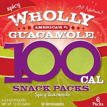Wholly Guacamole 100- Calorie Snack Packs