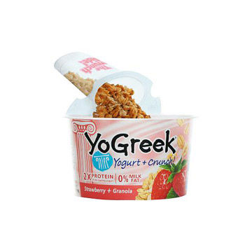 YoGreek Yogurt + Crunch