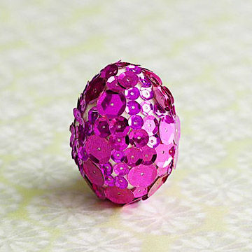 Sequin eggs