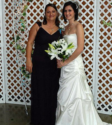 Amanda and her mother